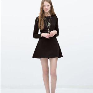 TRF by Zara || Sweater Skater Dress